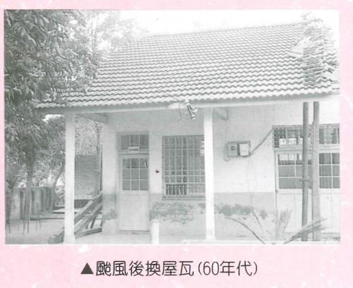 颱風後換屋瓦60年代.jpg